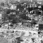 1946 Blick auf Damm-, Waisenhofstr u Fleethörn